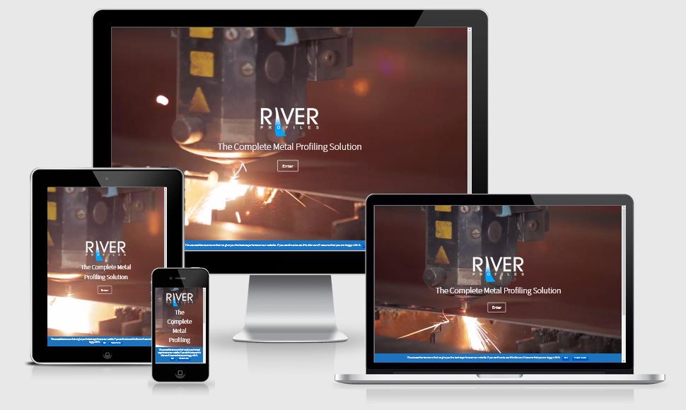 River Profiles Portfolio Image web design Cornwall